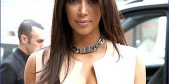 Kim Kardashian a supris Paris de par son décolleté